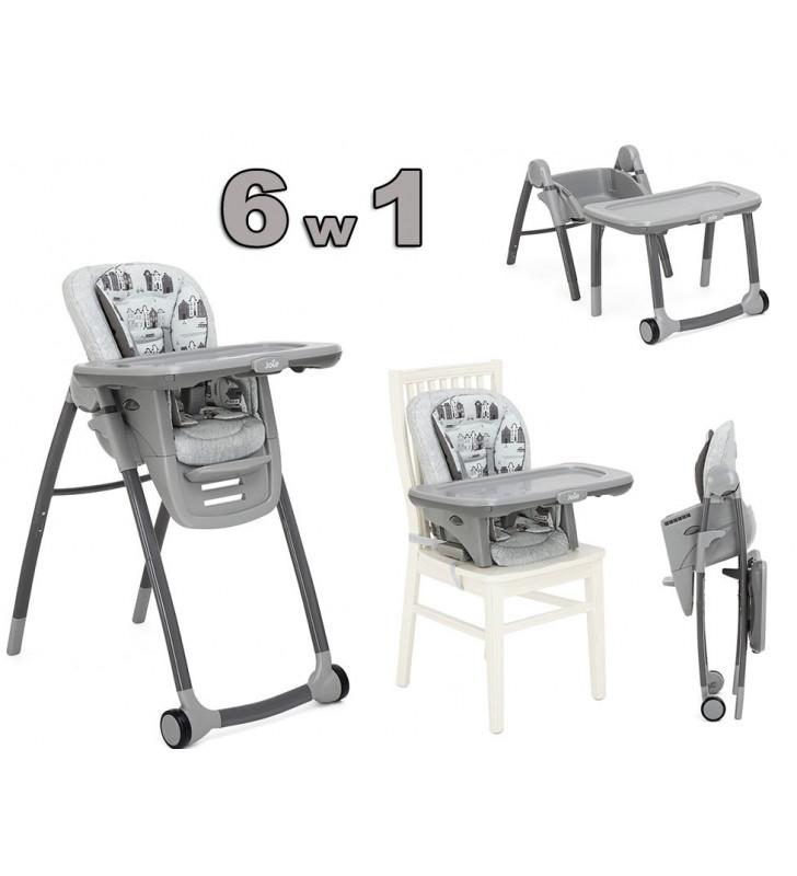 Krzesełko Joie Multiply 6w1 Snacker