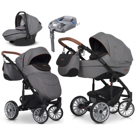 Delta Euro -Cart + fotelik + Baza