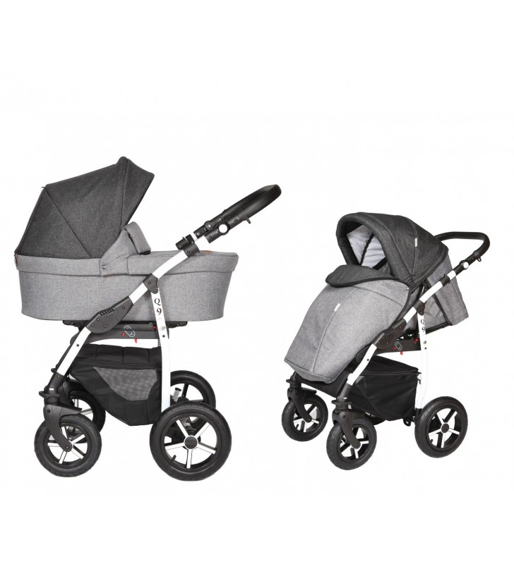 Baby Merc Q9+fotelik+Baza